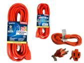 36 Units of Ext Cord Outdoor 25ft 3 Prong - Electrical