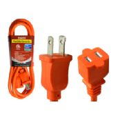 48 Units of 6ft Orange Outdoor Extension Cord - Chargers & Adapters