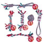 108 Units of Dog Toy Christmas Rope Chews