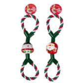 26 Units of Dog Toy Christmas Rope Tug - Christmas Novelties