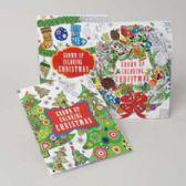 48 Units of Christmas Adult Coloring Books - Christmas Novelties
