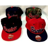 d3f01c620c3 72 Units of Wholesale Boston Snap back Baseball cap  hat - Hats With Sayings