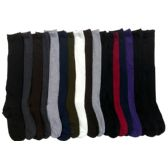 180 Units of Womens Solid Color Knee High Socks