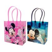 144 Units of SMALL MICKEY AND MINNIE PLASTIC GIFT BAG