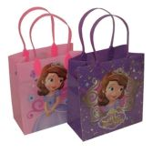 144 Units of MEDIUM SOFIA PLASTIC GIFT BAG