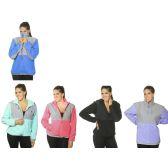 24 Units of WOMEN'S POLAR FLEECE JACKET - Woman's Winter Jackets