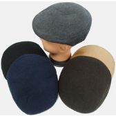 48 Units of Men Felt Ivy Cap