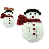 96 Units of Christmas Snowmen Garland - Christmas Ornament