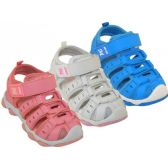 24 Units of Toddler's Hiker Sandals - Boys Flip Flops & Sandals