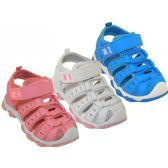 24 Units of Girl's Hiker Sandals - Girls Sandals