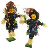 48 Units of WITCHES DECORATION W/STANDS - Halloween & Thanksgiving