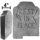 """12 Units of STYROFOAM """"REST IN PEACE"""" TOMBSTONES. - Halloween & Thanksgiving"""