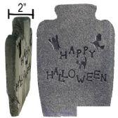 "24 Units of STYROFOAM ""HAPPY HALLOWEEN"" TOMBSTONES. - Halloween & Thanksgiving"