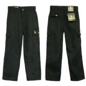 24 Units of Boys Adj. Waist Cargo Pants