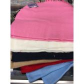 72 Units of Unisex Soft Wool Like Assorted Colors Winter Scarf - Winter Scarves