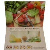 48 Units of CUTTING BOARD 30X40CM ASST DESIGN GLASS - Cutting Boards