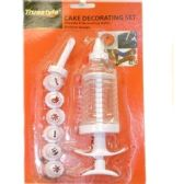 96 Units of 8 PIECE CAKE DECORATING SET