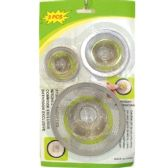 96 Units of 3 PIECE SINK STRAINER - Plumbing Supplies