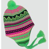 36 Units of Neon Ski Cap With Ear flaps