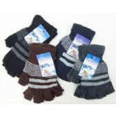 120 Units of Men's fingerless Gloves