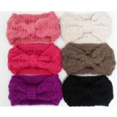 72 Units of Knit Head Band Assorted Colors