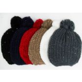 72 Units of Ski Hat w. Sequin & Pom Pom