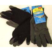 72 Units of Black Work Gloves - Working Gloves
