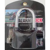 20 Units of Long Pad Lock with Alarm - Padlocks and Combination Locks