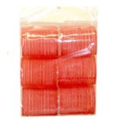96 Units of 6PIECE SELF GRIP HAIR ROLLERS 4X6.5CM - Hair Rollers