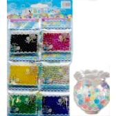 144 Units of JELLY BALL DECO 6 COLORS