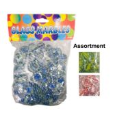 96 Units of CLEAR DECO ROCK 500G ASST COLOR RED,GREEN BLUE