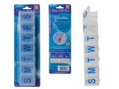 144 Units of 7 Days Pill Box W/Blister Card - Pill Boxes and Accesories
