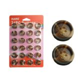 96 Units of 24 Piece 21mm Button - SEWING BUTTONS