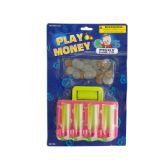 72 Units of Play Money with Counter Toy Set - Educational Toys
