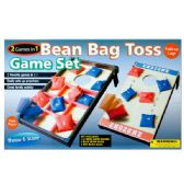 6 Units of 2 In 1 Bean Bag Toss Game Set - Toy Sets