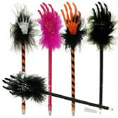 300 Units of SKELETON HAND HALLOWEEN PENS. - Halloween & Thanksgiving