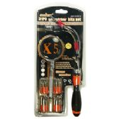 24 Units of 31 PIECE SCREWDRIVER SETS W/ MAGINFYING GLASS. - SCREWDRIVERS & SETS