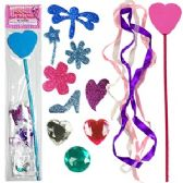 144 Units of MAKE YOUR OWN FAIRY WAND. - Craft Kits