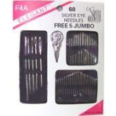 96 Units of 60pc Needle Set - Sewing Needles/Sets
