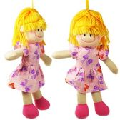 96 Units of SOFT RAG DOLLS - Dolls