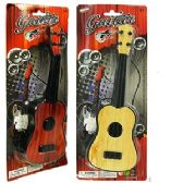 144 Units of MINI TOY 4 STRING GUITAR. - Musical