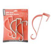 96 Units of Over Door Hooks - Hooks