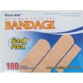 48 Units of 100 Assorted Bandages