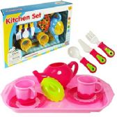 24 Units of 14 PIECE TOY TEA SETS - GIRLS TOYS