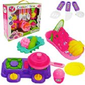 12 Units of 16 PIECE COOKIN' TIME PLAY SETS. - GIRLS TOYS
