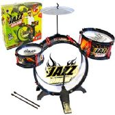 4 Units of 4 PIECE JAZZ DRUM KITS - Musical