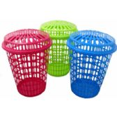 24 Units of Laundry Basket With Cover