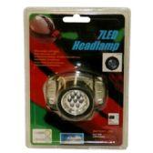 72 Units of 7 LED HEADLAMP