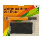 72 Units of Whiteboard Marker & Eraser Set