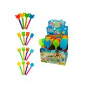 96 Units of Sand Toy Bubble Stick Counter Top Display - Beach Toys